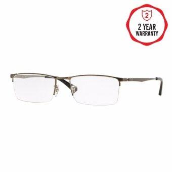 Ray-Ban แว่นสายตา รุ่น - RX6281D - Matte Black (2503) Size 55 Demo Lens