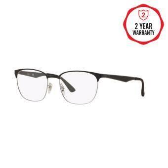 Ray-Ban แว่นสายตา รุ่น - RX6356 - Top Matte Black On Shiny Gold (2875) Size 52 Demo Lens