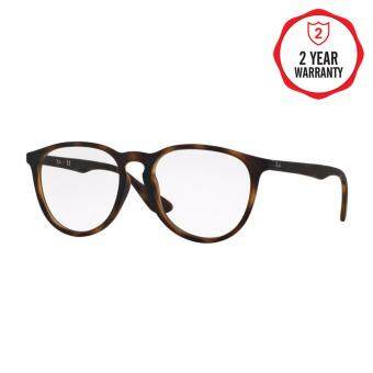 Ray-Ban แว่นสายตา รุ่น  - RX7046F - Rubber Black (5364) Size 55 Demo Lens