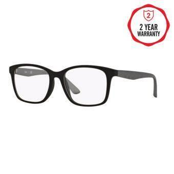 Ray-Ban แว่นสายตา รุ่น - RX7059D - Matte Black (5555) Size 55 Demo Lens