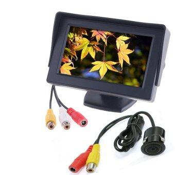 Rearview Camera 4.3'' TFT LCD HD Car Monitor Car Reverse Parking Monitor - Intl