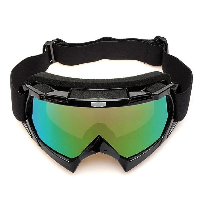 RHS Motocross Off-road Trials Enduro Helmet ATV Dirt Bike Motorcycle Goggles Eyewear(Black) - intl