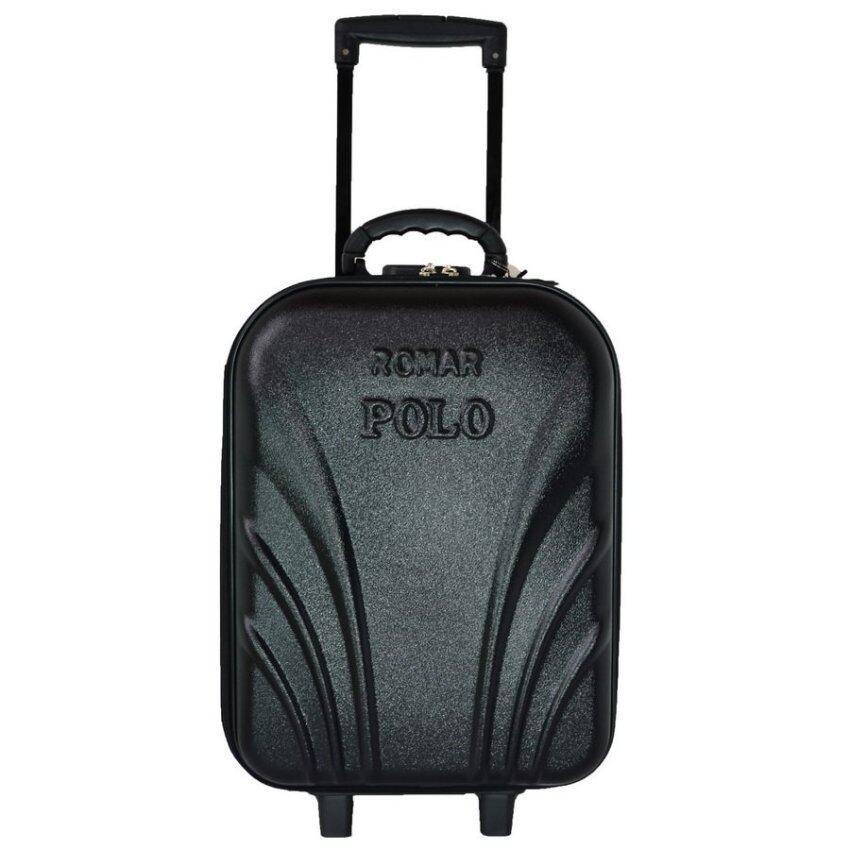Romar Polo กระเป๋าเดินทาง 18 นิ้ว FB Code 3381-9 (Black)