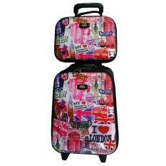 Romar Poloกระเป๋าเดินทาง กระเป๋าล้อลาก ขนาด18 นิ้ว 2ใบ/ชุดLB1861 ลดราคา