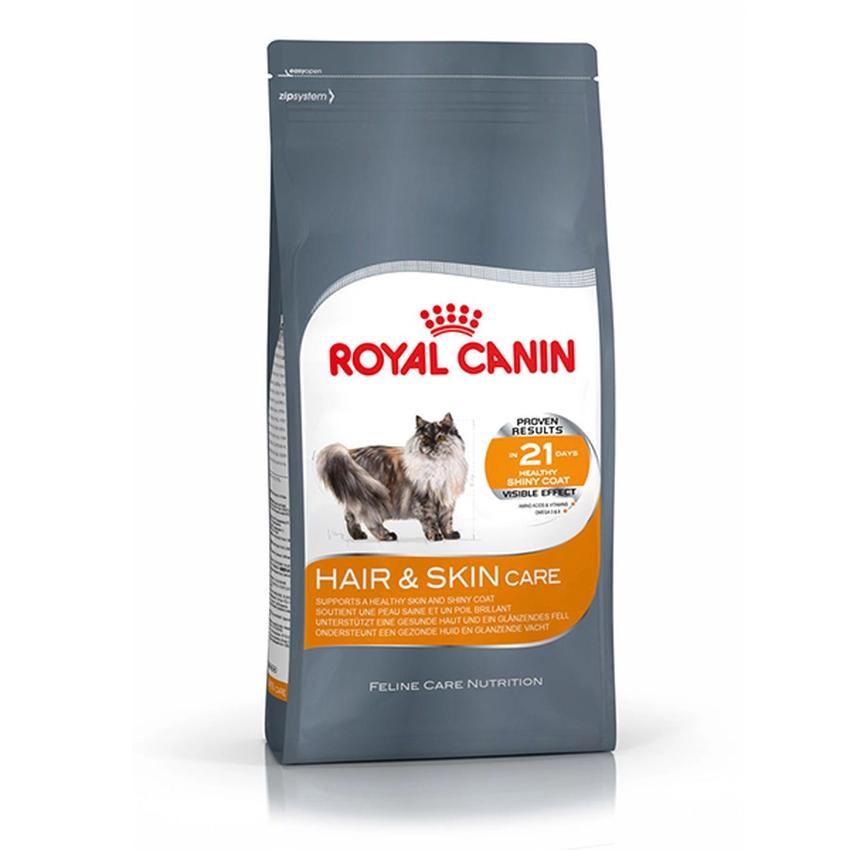 Royal Canin Hair&Skin Care 400g x 1 Piece โรยัลคานิน สำหรับแมวโตอายุ 1 ปีขึ้นไปสูตรบำรุง ...