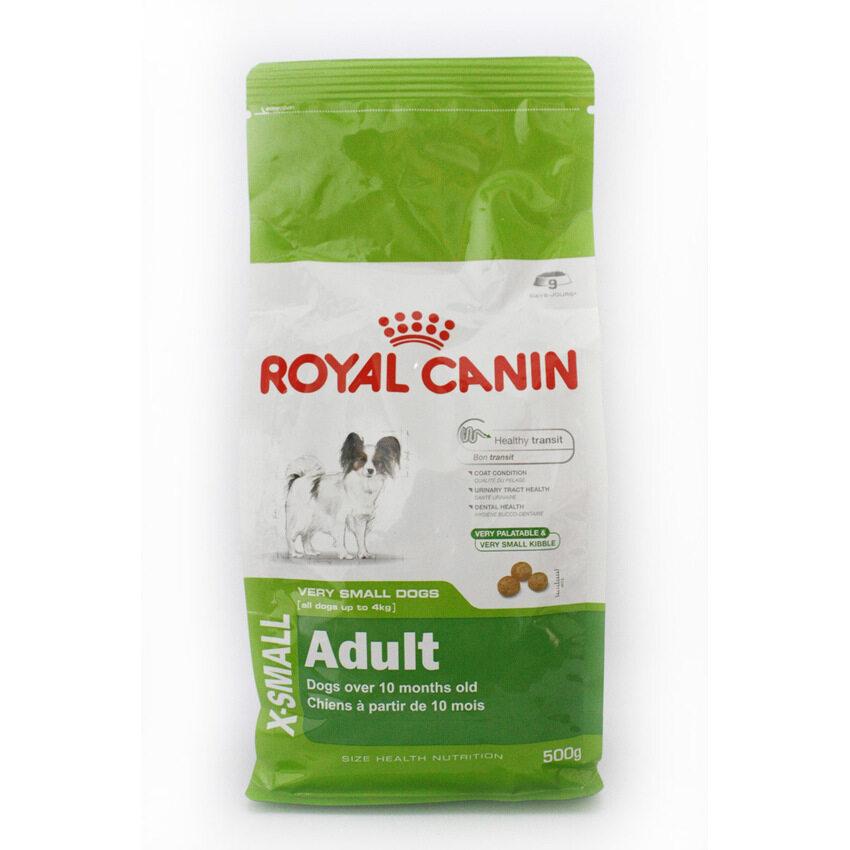 Royal Canin X-small Adult อาหารสุนัขโต พันธุ์เล็ก ขนาด 500g ...