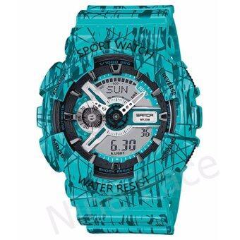 S SPORT นาฬิกาข้อมือ กันน้ำได้ ใส่ได้ทั้งชายและหญิง - GP9211