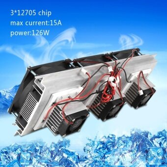 Semiconductor Refrigeration Pieces Kit Thermoelectric Peltier AirCooling Device - intl