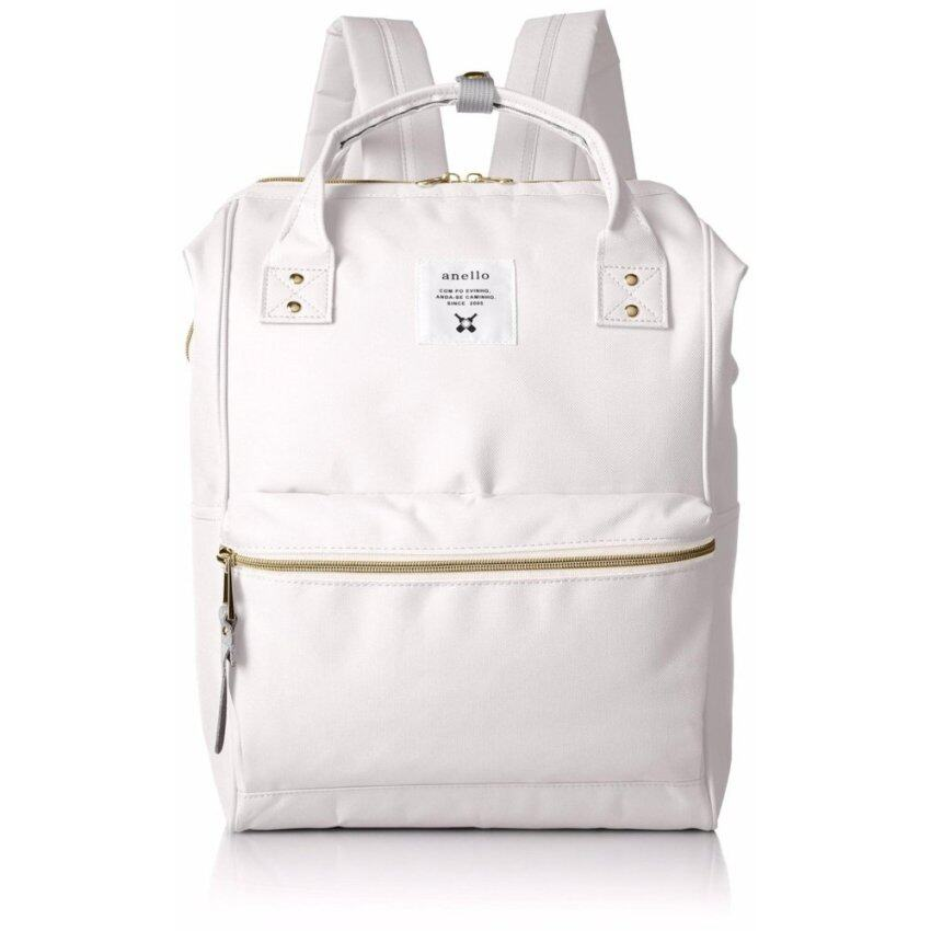 【Ship from Japan】[Anello] Backpack Sucket Backpack AT-B0193A White - intl