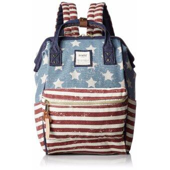 【Ship from Japan】Anello Canvas with mouthpiece mini rucksack AT-B 0487 Usa - intl