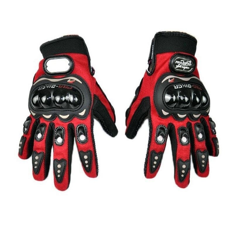 Size XL Motorcycles Protective Gears Gloves Full Finger Men Gloves Accessories Parts For Motorcyclists - intl