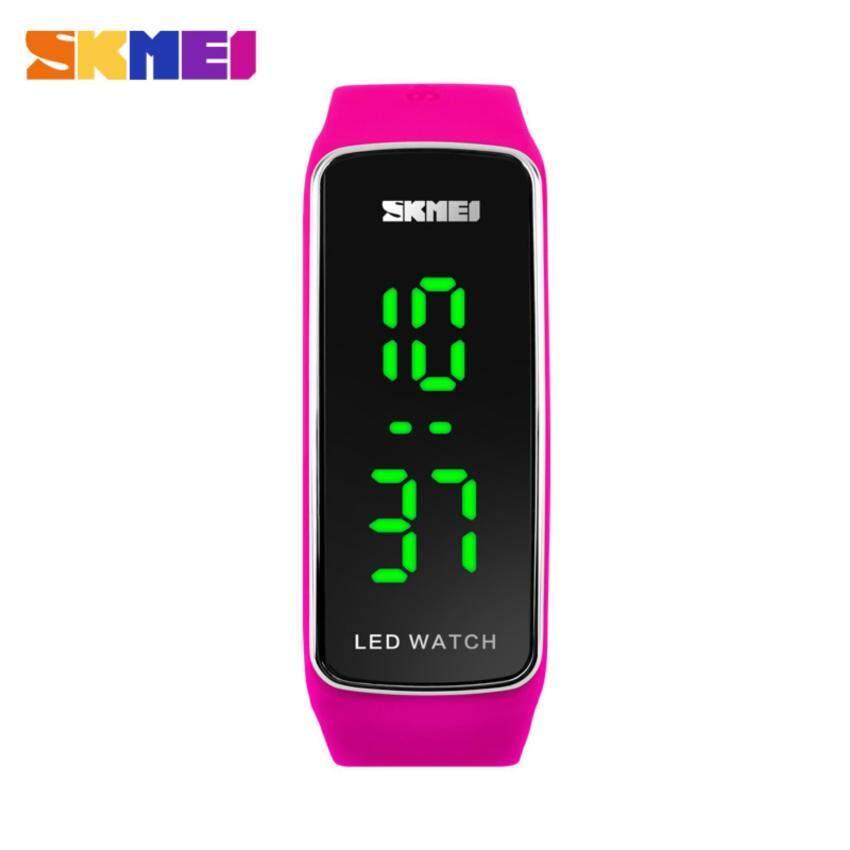 Skmei 1119 Unisex Sports Led Digital Jelly Candy Color Quartz Wrist Watch - intl