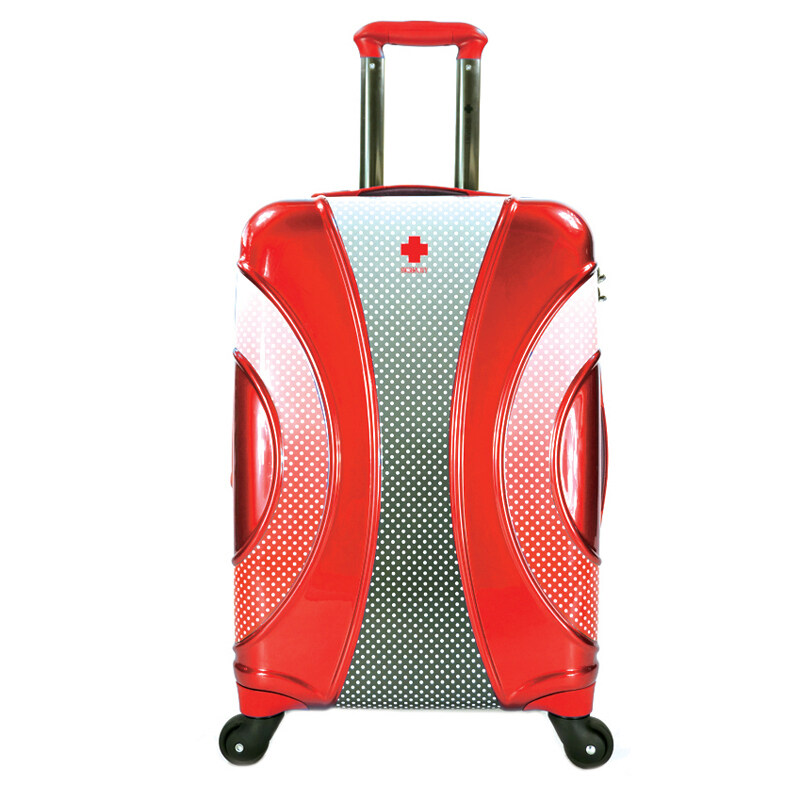 SWISH NAVY กระเป๋าเดินทาง 20 รุ่น CABANA (สีแดง) ...