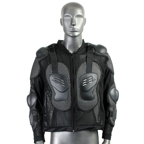 Teamwin Motorcycle Full Body Protective Armor Jacket Spine Chest Shoulder