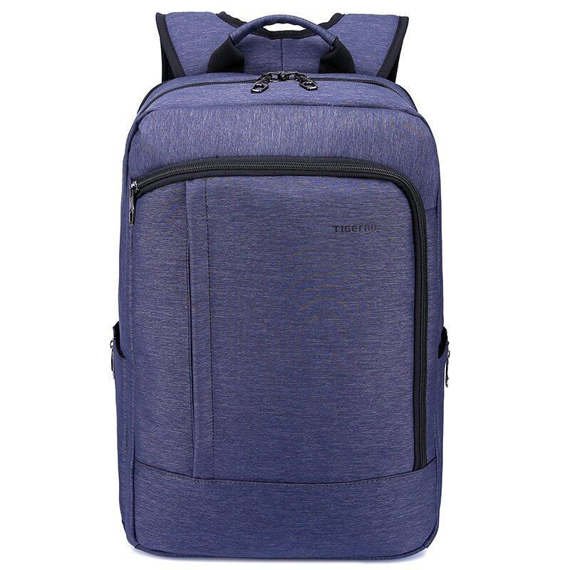 Tigernu Anti-theft Waterproof Teenager School Travel Business Nylon Backpack for 12.1-14 Inches Laptop(purple)