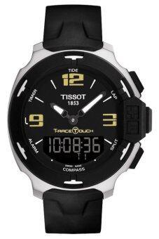 TISSOT T-RACE TOUCH นาฬิกาข้อมือผู้ชาย สีดำ สายยาง รุ่น T081.420.17.057.00