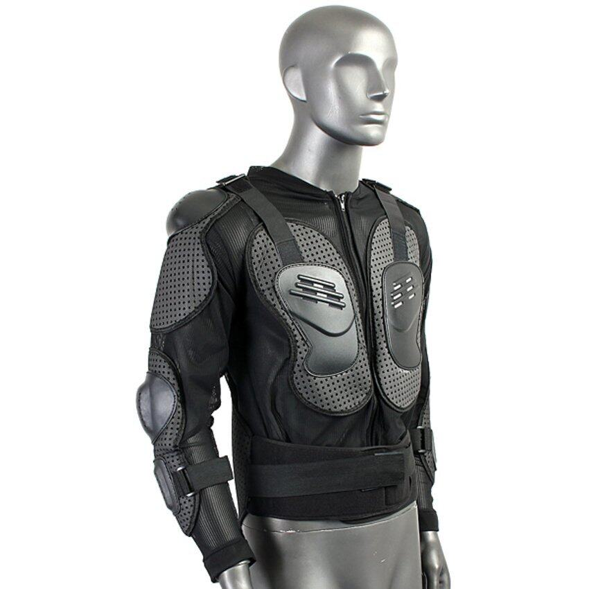 UJS Motorcycle Full Body Protective Jacket Spine Chest Shoulder Riding Gear (Intl)