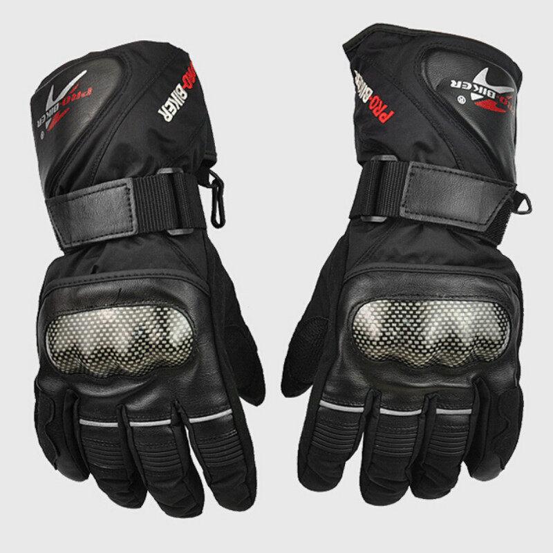 UJS Motorcycle Gloves Winter Waterproof Motocross Moto Glove Motorbike MTB Cycling Enduro Racing 2015 Pro Biker Brand luva guantes-Black (Intl)