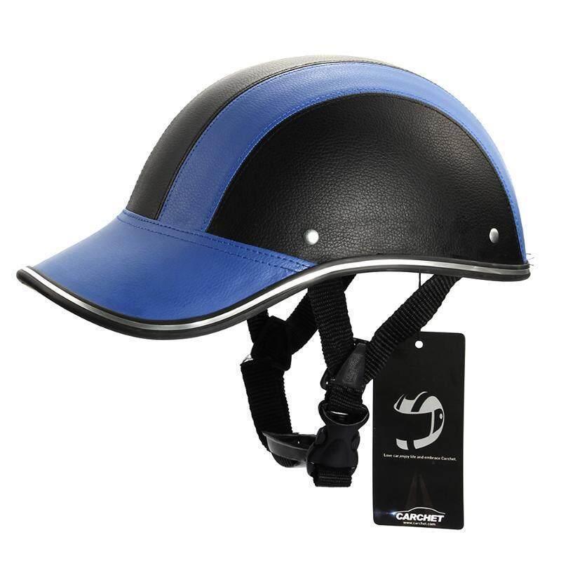 UJS Motorcycle Half Face Helmet Protective Helmets Pith Helmet Baseball Cap 5 Colors-Blue (Intl)