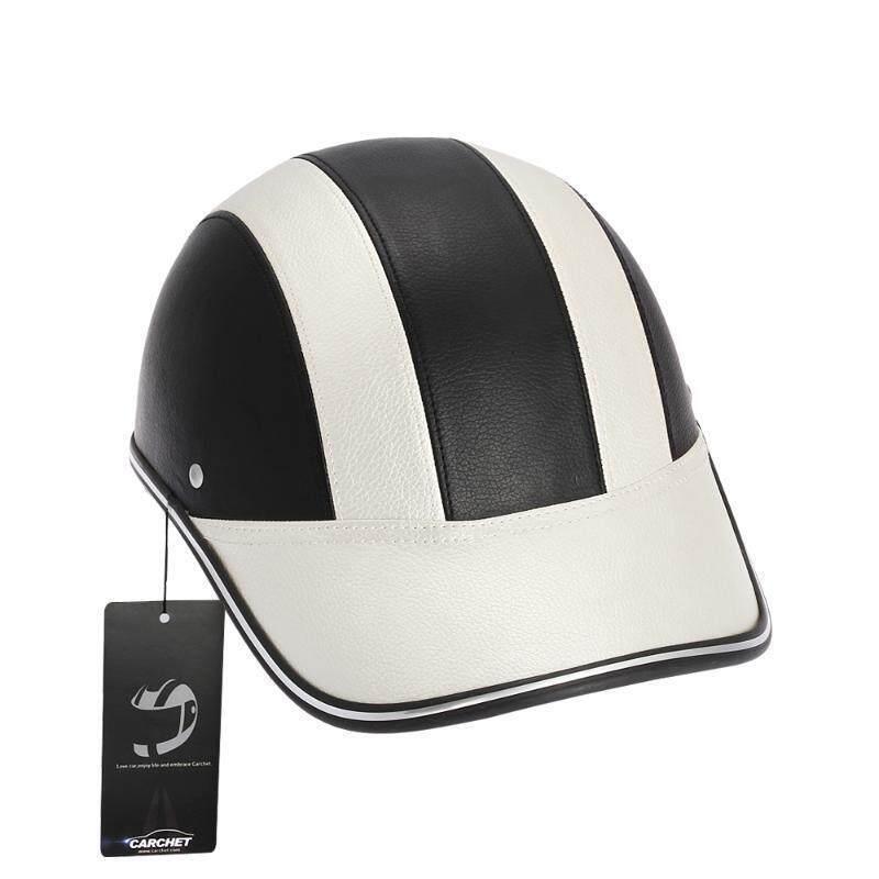 UJS Motorcycle Half Face Helmet Protective Helmets Pith Helmet Baseball Cap 5 Colors-Silver (Intl)