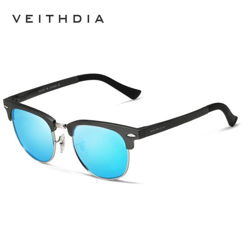 Unisex Retro Aluminum Magnesium Brand Sunglasses Polarized Lens Vintage Outdoor Eyewear Accessories Sun Glasses Oculos 6690