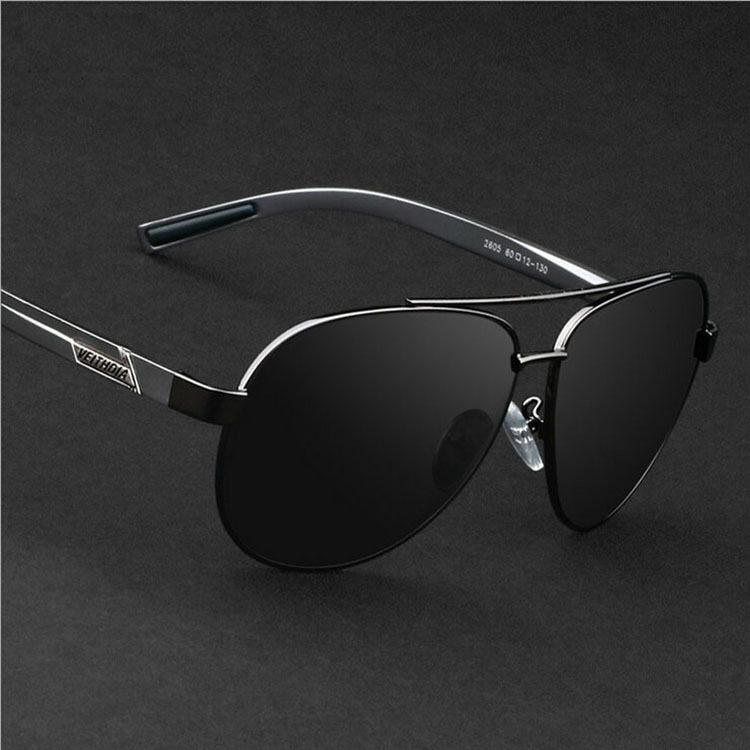 สุดยอดสินค้าVEITHDIA แว่นกันแดดเลนส์โพลาไรส์ 2605 สีเทา ราคาย่อมเยา