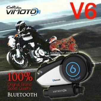 VIMOTO V6 Helmet Bluetooth Intercom บูลทูธสำหรับหมวกกันน๊อต