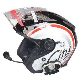 Vimoto V8 Helmet Bluetooth Intercom Headset บูลทูธติดหมวกกันน๊อต