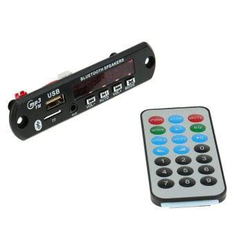 Wireless Bluetooth MP3 WMA Decoder Board Car Audio FM Radio Module