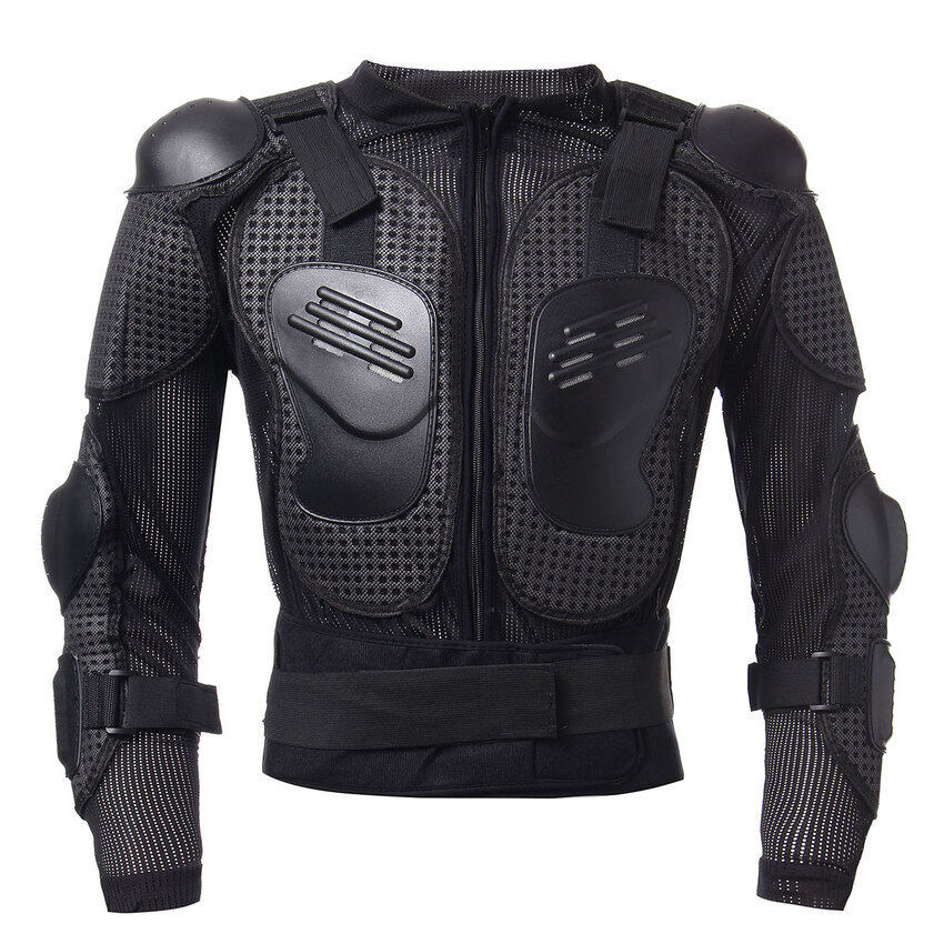 YJS Motorcycle Full Body Protective Armor Jacket Spine Chest Shoulderriding Gear - Intl