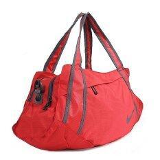 Nike กระเป๋าถือพร้อมสายสะพายยาว - สีแดง/ดำ
