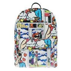 ORANGE IDEA กระเป๋าเป้แฟชั่น สไตล์เกาหลีผ้าใบ HSJ-21 - ลายการ์ตูน