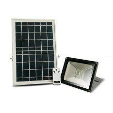 ขาย Smart Solar Light SuperBright โคมไฟ สปอตไลท์ โซล่าเซลล์ ไฟกันขโมยติดกำแพง 30W พร้อมรีโมทคอนโทรล สีดำ