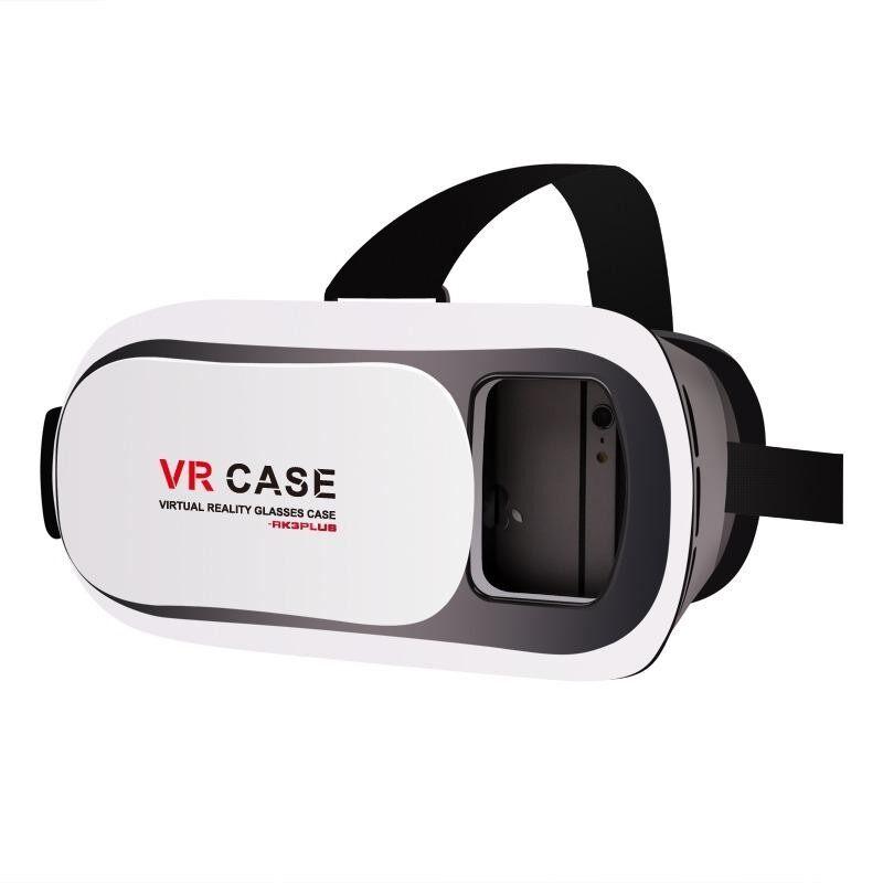 ส่วนลด Vr Box Glasses Headset แว่น 3D Rk3 สำหรับสมาร์ทโฟนทุกรุ่น White