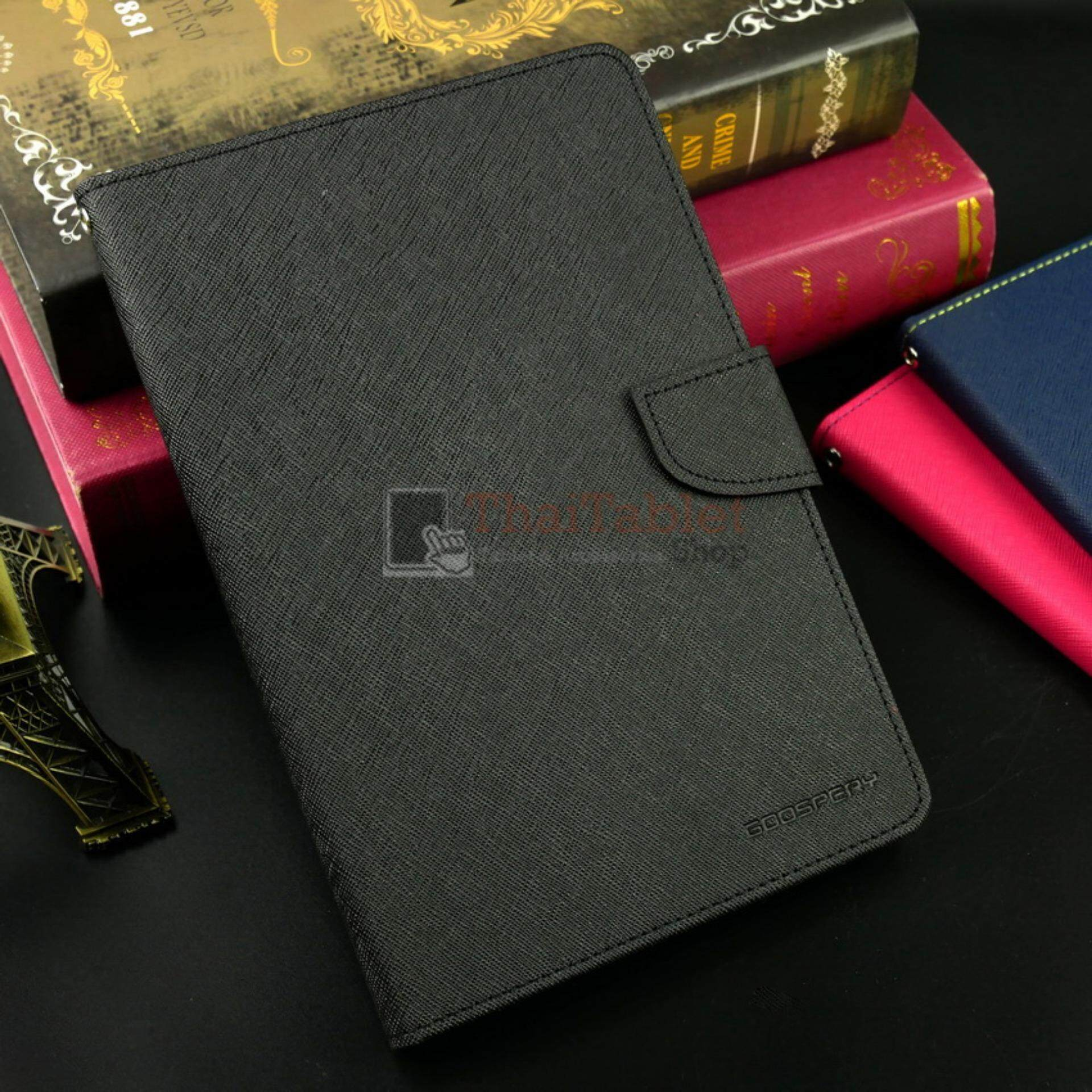 "Siam Tablet Shop Case Samsung Galaxy Tab S2 8"" T715  รุ่น Mercury goospery (สีดำ)"