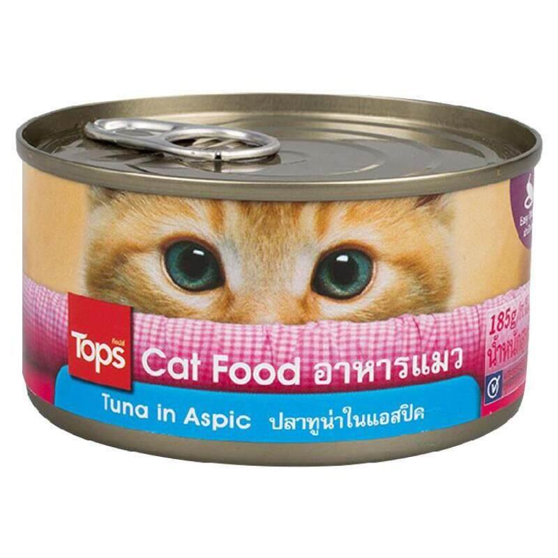 ท็อปส์ อาหารแมว เยลลี่ทูน่า By Raybeck.