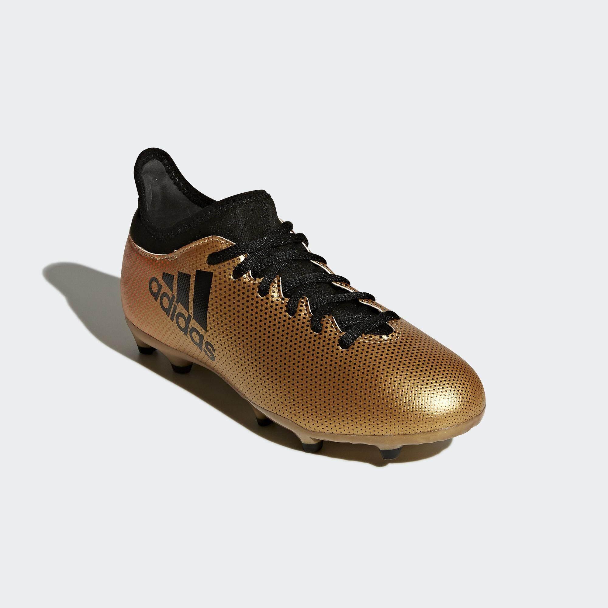 รองเท้าฟุตบอลเด็ก Adidas Cp8990 X 17.3 Fg Junior - Gold รองเท้าฟุตบอล รองเท้าฟุตบอลอาดิดาส รองเท้าสตั๊ด By Gear Up.