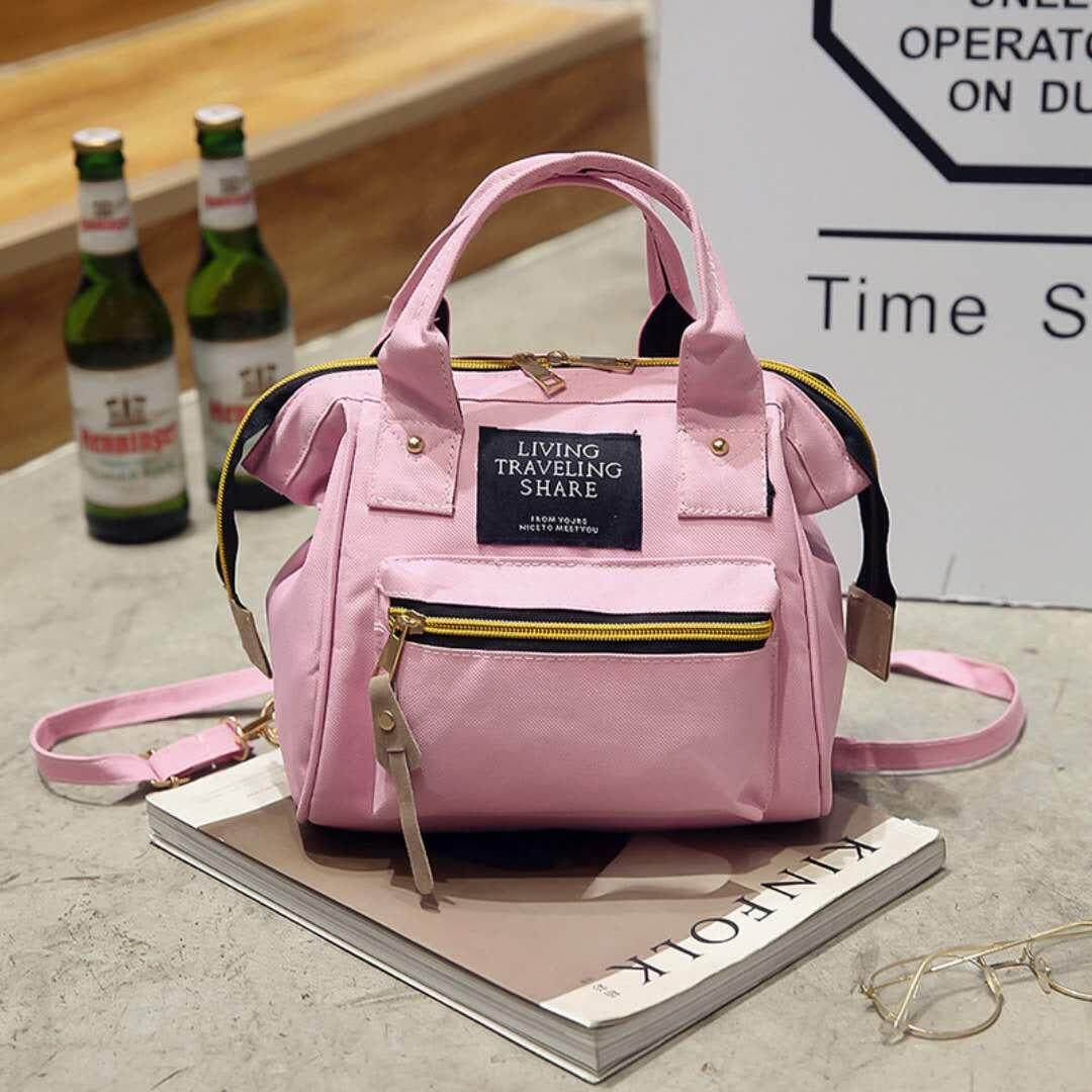 กระเป๋าสะพายพาดลำตัว นักเรียน ผู้หญิง วัยรุ่น ระนอง BAIFA SHOP Japan Women Bag กระเป๋าสะพายข้างสำหรับผู้หญิง LT01