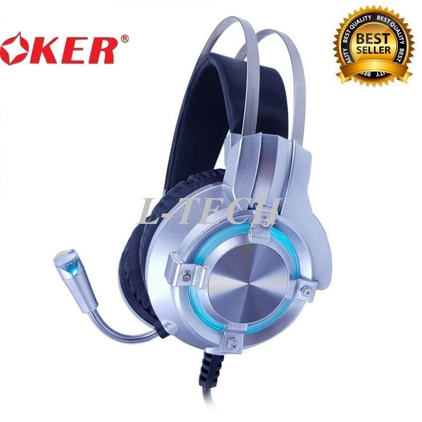 ซื้อ Oker X98 หูฟังเกมมิ่ง Hi Fi Stereo Gaming Headset ถูก ใน กรุงเทพมหานคร
