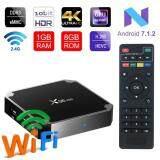 ตราด 【JADEN ของแท้ 100%】กล่องรับสัญญาณทีวี แอนดรอยด์ รุ่น X96 Mini Android 7.1 BOX สมาร์ททีวี แอนดรอยด์ทีวี ดิจิตอลแอนดรอยด์ทีวี แอนดรอยด์บ็อกซ์ 2G+16G รุ่น X96 mini