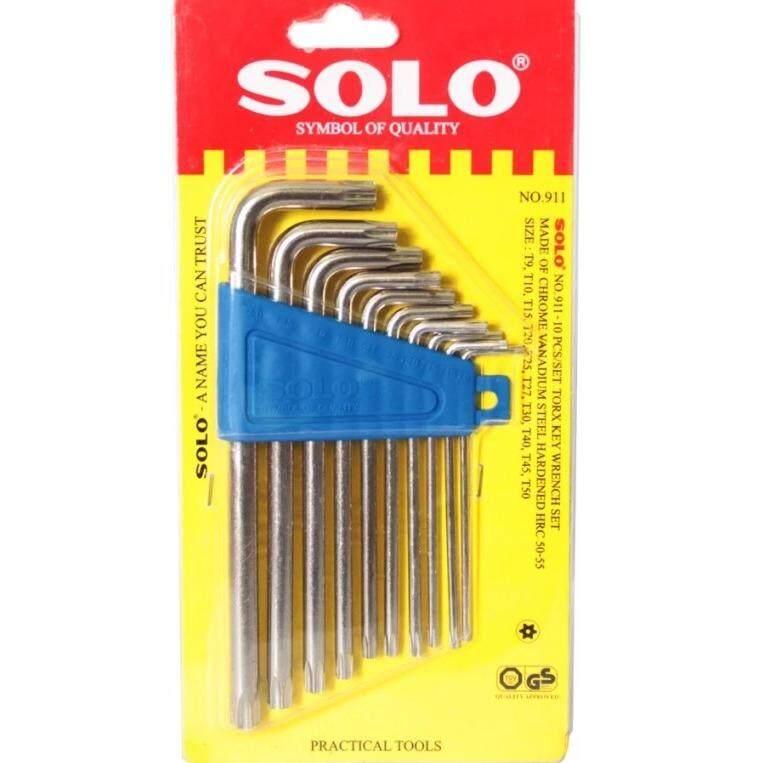 ทบทวน ที่สุด ประแจแอล ประแจหกแฉกท๊อกซ์ No 911 Mm Solo 10 ชิ้น X 1 ชุด