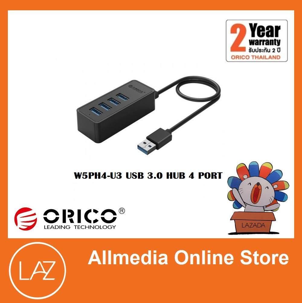 Orico Network Components W5ph4 4 Ports Usb 30 Portable Hub Ultra Mini Usb30 Port