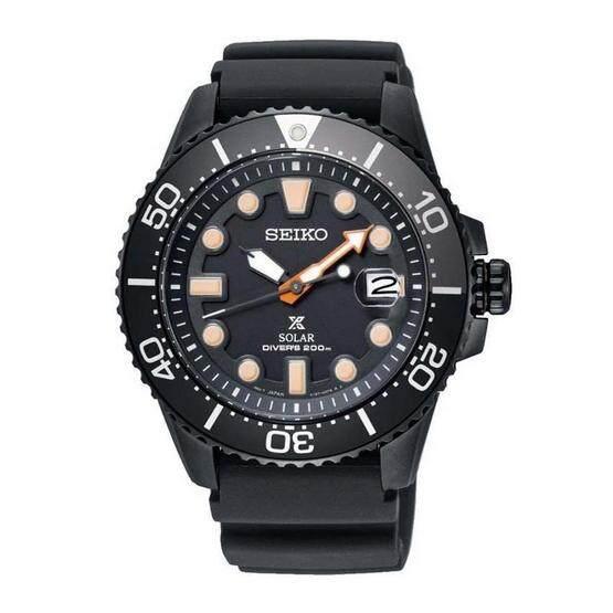 พัทลุง Seiko Prospex SNE493J1 Black series