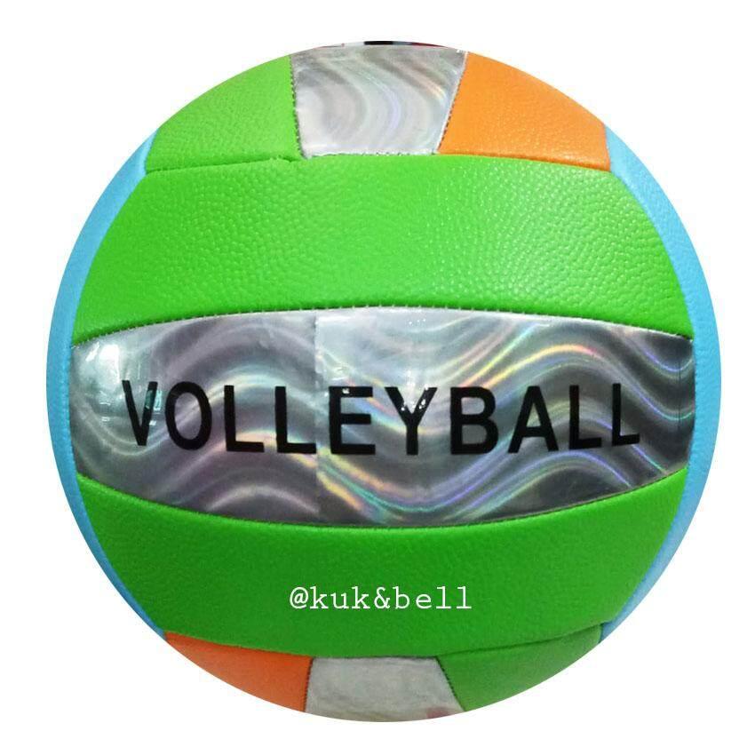 Coco Toy บอลหนัง ลูกวอลเล่ย์บอล Volleyball แถมฟรี ตาข่ายใส่ลูกวอลเลย์บอล 799md.