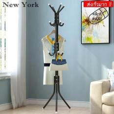 New York Big Sale ราวแขวน ราวแขวนอเนกประสงค์ แขวนผ้า แขวนหมวก แขวนกระเป๋า No.Y096