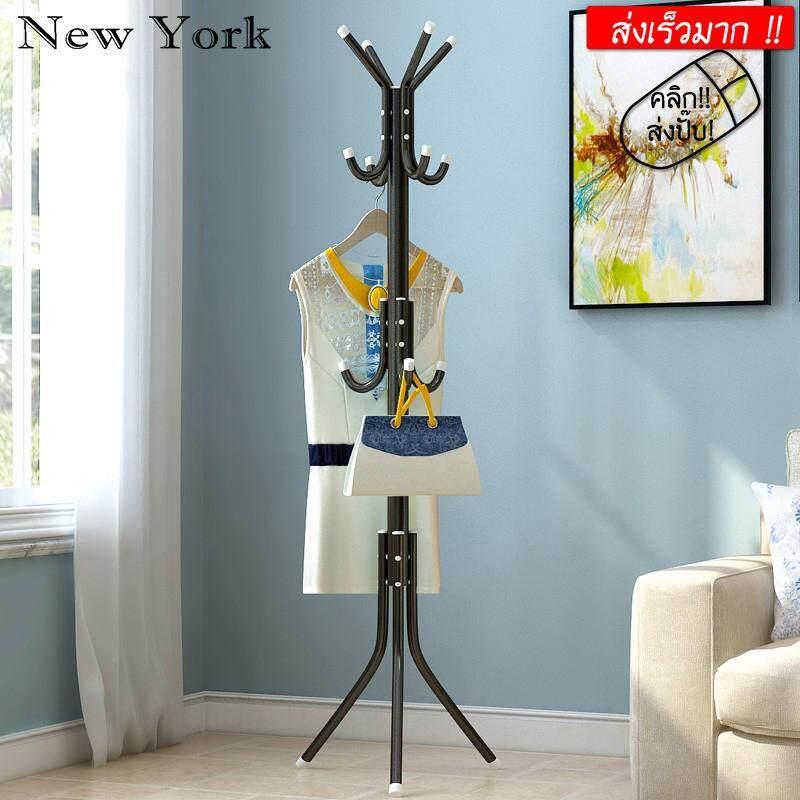 New York Big Sale ราวแขวน ราวแขวนอเนกประสงค์ แขวนผ้า แขวนหมวก แขวนกระเป๋า No.y096 By New York Big Sale.