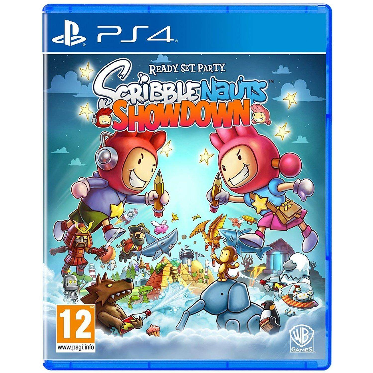 PS4 SCRIBBLENAUTS SHOWDOWN (Europe)