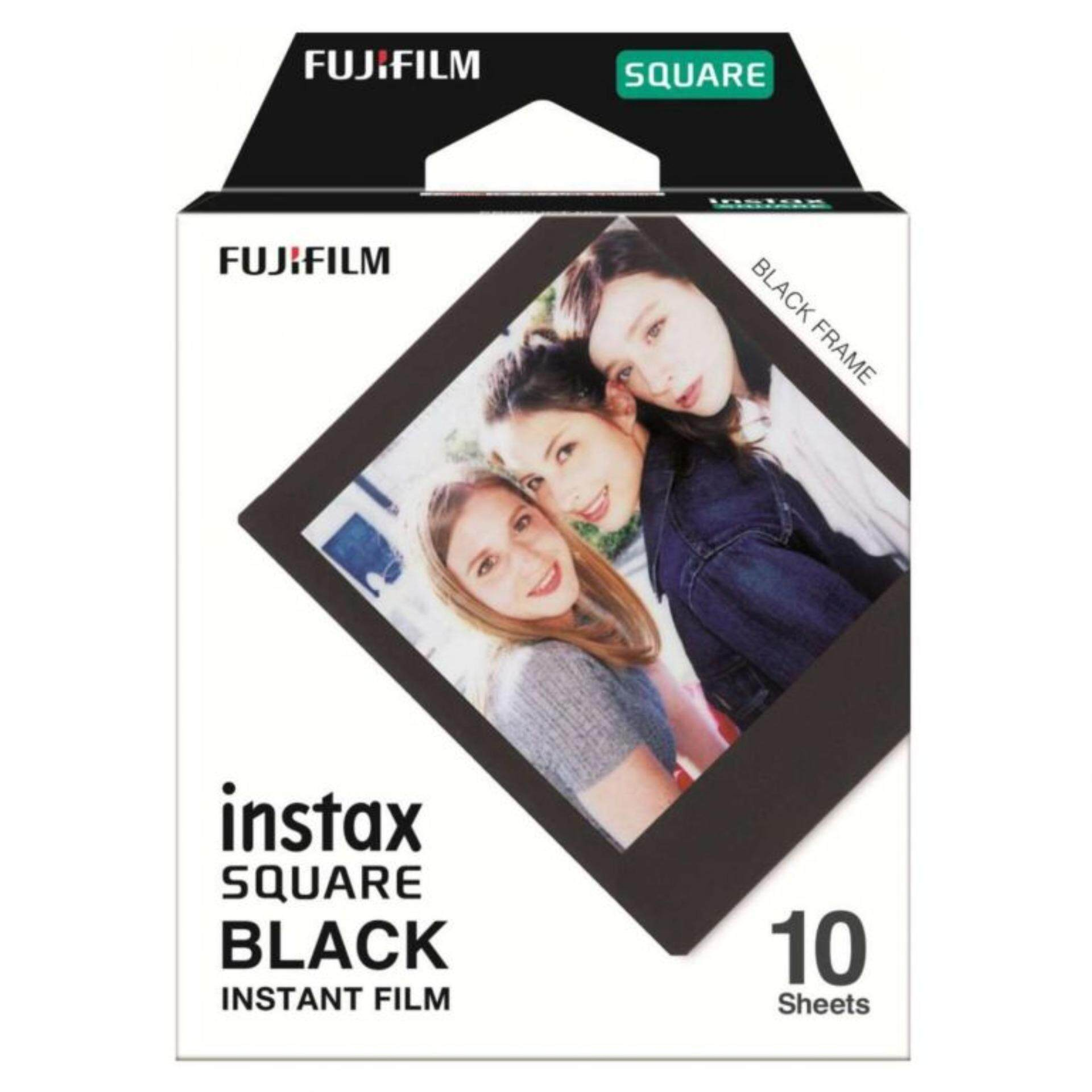 Fujifilm Instax Square Black Frame Film Film For Instax Square Cameras.