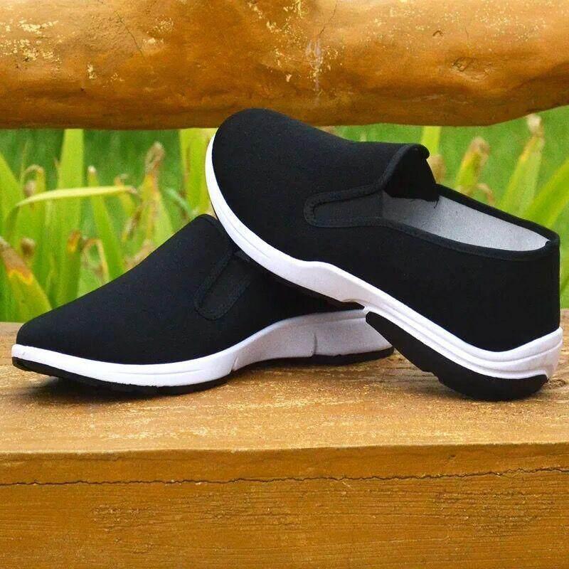 รองเท้าผ้าใบสวมง่ายๆ ใส่สบาย canvas shoes