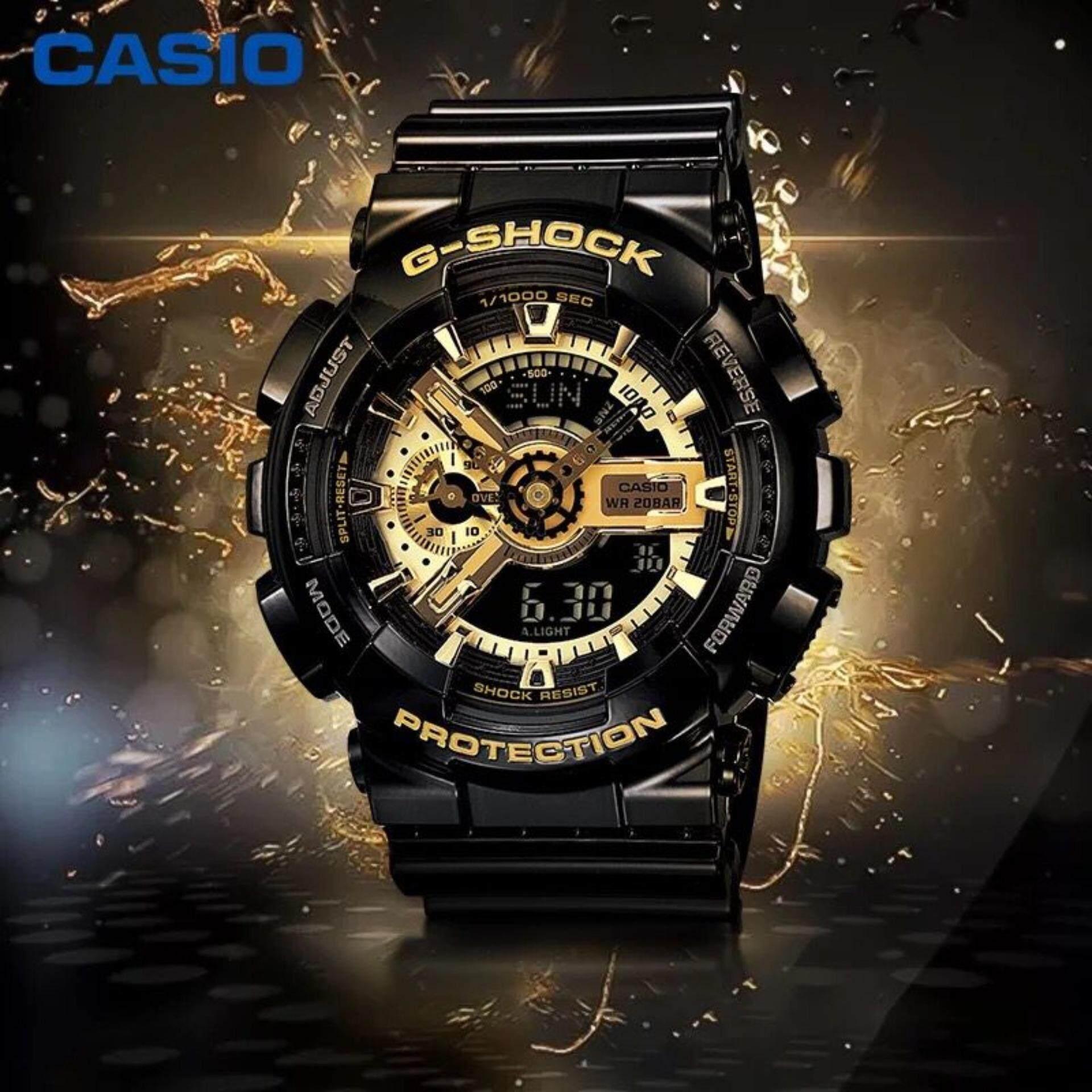 Casio G Shock 25 Gshock Original Ga100mb 1adr Ga 100mb 100 110gb